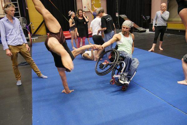 Watch Video: Circus Oz Residency