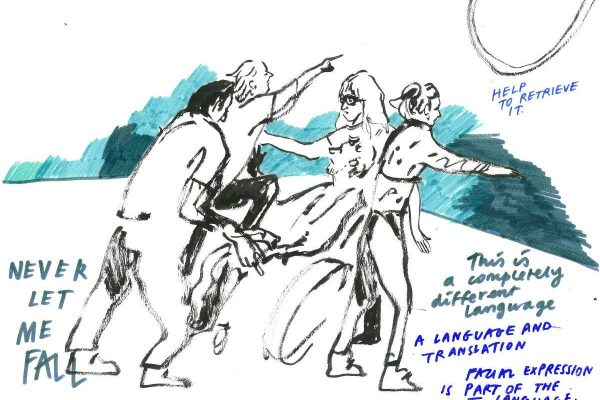 National Theatre Residency – Live Illustrations by Holly O'Neil
