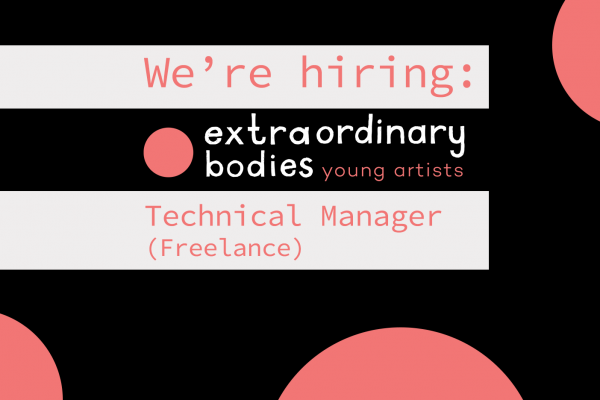 We're Hiring: EBYA Freelance Technical Manager